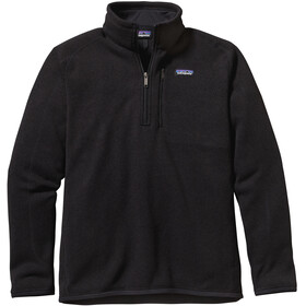 Patagonia Better 1/4 Zip Sweater Herr black